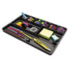 Universal® Recycled Drawer Organizer, Nine Compartments, Plastic, 14 x 9 x 1 1/8