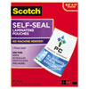 Scotch™ Self-Sealing Laminating Pouches, 9.5 mil, 8 1/2 x 11, 25/Pack