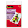 Scotch™ Self-Sealing Laminating Pouches, 9.5 mil, 4 3/8 x 6 3/8, Photo Size, 5/Pack