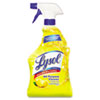LYSOL Brand All-Purpose Cleaner, Lemon, 32 oz. Spray Bottle