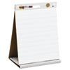 Post-it® Easel Pads Self-Stick Tabletop Easel Ruled Pad, Command Strips, 20