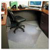 ES Robbins® 45x53 Lip Chair Mat, Multi-Task Series AnchorBar for Carpet up to 3/8