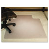 ES Robbins® 45x53 Lip Chair Mat, Performance Series AnchorBar for Carpet over 1
