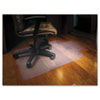 ES Robbins® 45x53 Lip Chair Mat, Economy Series for Hard Floors