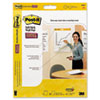 Post-it® Easel Pads Self-Stick Wall Easel Unruled Pad, 20