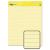 Post-it® Easel Pads Self-Stick Easel Pad, Ruled, 25 x 30, Yellow, 2 30-Sheet Pads/Carton