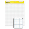 Post-it® Easel Pads Self-Stick Easel Pads, Quad Rule, 25 x 30, White, 2 30-Sheet Pads/Carton