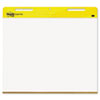 Post-it® Easel Pads Self-Stick Easel Pads, Landscape, 30 x 23-1/2, White, 2 30-Sheet Pads/Carton