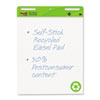 Post-it® Easel Pads Self-Stick Easel Pads, 25 x 30, White, Recycled, 2 30-Sheet Pads/Carton