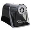iPoint® Evolution Axis Pencil Sharpener, Black/Silver, 5w x 7 1/2 d x 7 1/4h