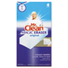 Mr. Clean® Magic Eraser Foam Pad, 3 x 3, White, 4/Box