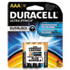 Ultra Power Alkaline Batteries with Duralock Power Preserve Technology, AAA,8/Pk