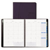 Day-Timer® Essentials Monthly Planner, 8 1/2 x 11, White/Blue/Gray, 2015