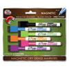 Write Dudes SRX Magnetic Dry Erase Markers, 6/Set