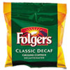 Folgers® Ground Coffee, Fraction Pack, Classic Roast Decaf, 1.5oz, 42/Carton