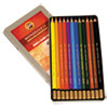Koh-I-Noor Mondeluz Aquarelle Colored Pencils, Assorted