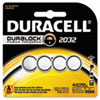 Duracell® Lithium Medical Battery, 3V, 2032, 4/Pk