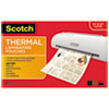 Scotch™ Laminating Pouches, 3 mil, 11.5