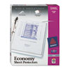 Avery® Top-Load Poly Three-Hole Sheet Protectors, Economy Gauge, Letter, 100/Box