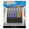 Write Dudes Aero Smooth Tech Ballpoint Pens, 0.7mm, Assorted, 18/Set
