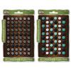 The Board Dudes Decorative Thumb Push Pins, Metal, Assorted, 1/2