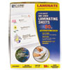 C-Line® Antimicrobial Cleer Adheer Laminating Film, 3 mil, 9 x 12, 50/Box