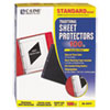 C-Line® Traditional Polypropylene Sheet Protector, Standard Weight, 11 x 8 1/2, 100/BX
