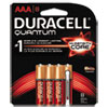 Quantum Alkaline Batteries with Duralock Power Preserve Technology, AAA, 8/Pk
