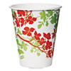 Dixie® Modern Romance Paper Cold Cups, 12 oz, White/Green/Red, 300/Carton