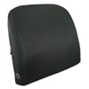 Advantus® Memory Foam Massage Lumbar Cushion, 12-3/4w x 3-1/2d x 12-1/2h, Black