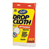 KIMBERLY-CLARK PROFESSIONAL* Scott Absorbent Dropcloths, 8 x 12, White, 6/Carton
