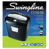 Swingline® EX10-05 Super Cross-Cut Shredder, 10 Sheets, 1 User