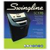 Swingline® SC170 Strip-Cut Shredder, 12 Sheets, 1 User