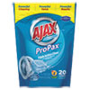 Ajax® Toss Ins Powder Laundry Detergent, Packets, 20/Pack, 4 Packs/Carton