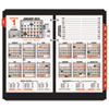 AT-A-GLANCE® Burkhart's Day Counter Recycled Desk Calendar Refill, 4 1/2