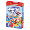Hawaiian Punch® Drink Mix Singles, Fruit Juicy Red, 0.75 oz Stick, 8/Box