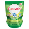 Cascade® Action Pacs, Fresh Sent, Blue, 12.7oz Reclosable Bag, 20/Bag