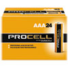 Duracell® Procell Alkaline Batteries, AAA, 24/Box