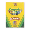 Crayola® Classic Color Pack Crayons, Tuck Box, 16 Colors/Box