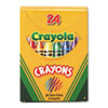 Crayola® Classic Color Pack Crayons, Tuck Box, 24/Box