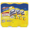 LYSOL® Brand Disinfecting Wipes, 7 x 8, Lemon and Lime Blossom, 35/Canister, 3/Pack