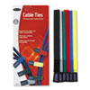 Belkin® Multicolored Cable Ties, 6/Pack