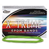 Alliance® X-treme File Bands, #117B, 7 x 1/8, Lime Green, Approx. 175 Bands/1 lb. Box