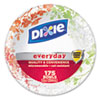 Dixie Ultra® Modern Romance Heavyweight Bowls, 12oz, White/Red/Green, 175/Carton
