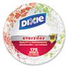 Dixie Ultra® Modern Romance Heavyweight Bowls, 12oz, White/Red/Green, 175/Carton