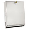 Bobrick Surface-Mounted Paper Towel Dispenser, 10 3/4 x 4 x 14, Stainless Steel