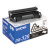 Brother® DR520 Drum Cartridge, 25000 Page-Yield, Black