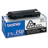 Brother® TN350 Toner, 2500 Page-Yield, Black