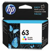 HP HP 63, (F6U61AN) Tri-Color Original Ink Cartridge