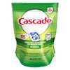 Cascade® ActionPacs, Fresh Scent, Blue, 12.7 oz Reclosable Bag, 20/Bag